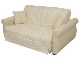 диван с прямыми подлокотниками
